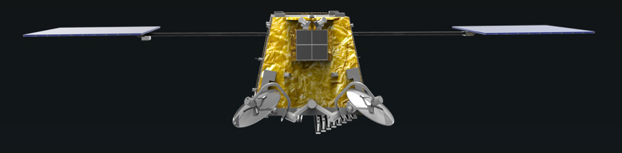 SpaceTech Airbus OneWeb Satellites satellite illustration