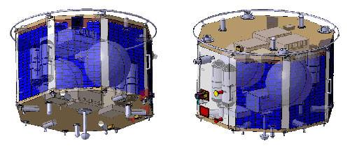 Client equipment accommodation concept (SRR baseline)