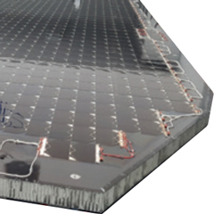SpaceTech PVA equipped CFRP panel 240x240